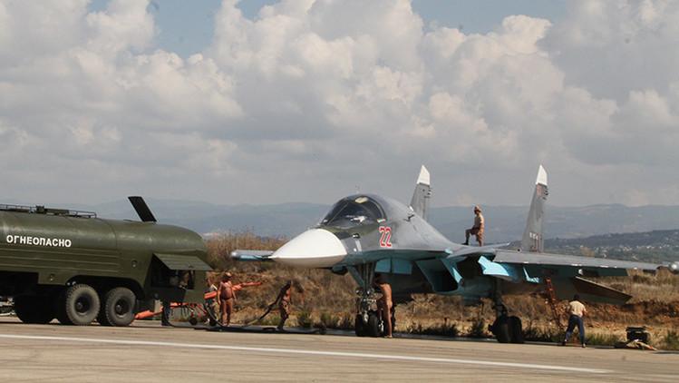 Aviones rusos destruyen el sistema antiaéreo Osa que el EI había sustraído al Ejército sirio