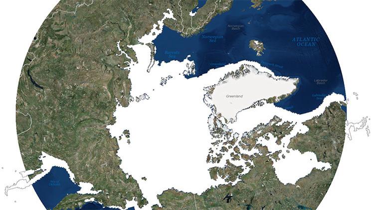 Mapas desclasificados revelan cómo el calentamiento del Ártico afectará a la geopolítica