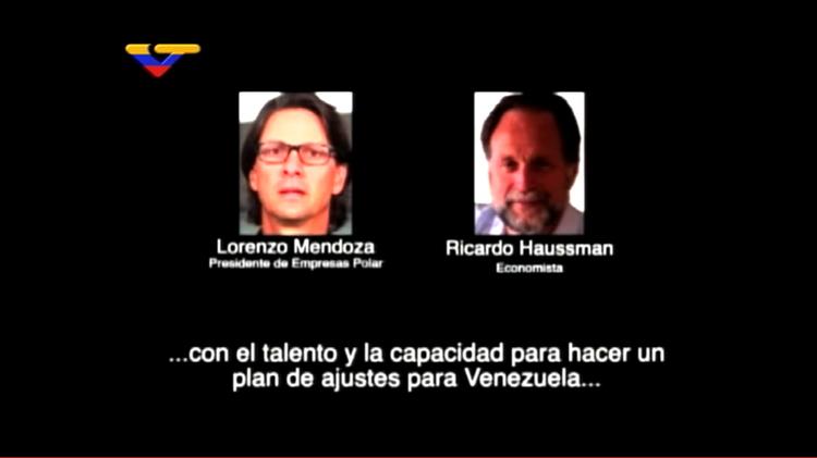 Grabación: Un empresario y un economista venezolano conspiran contra el país junto con el FMI