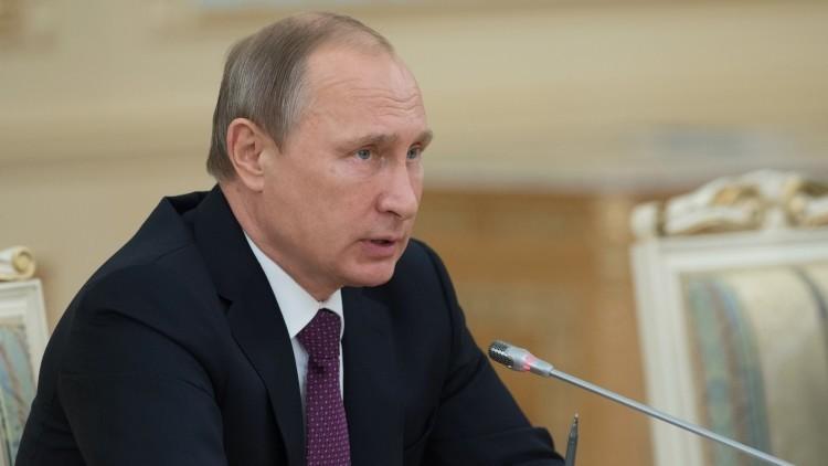 """Putin: """"La operación rusa en Siria tiene un límite temporal"""""""