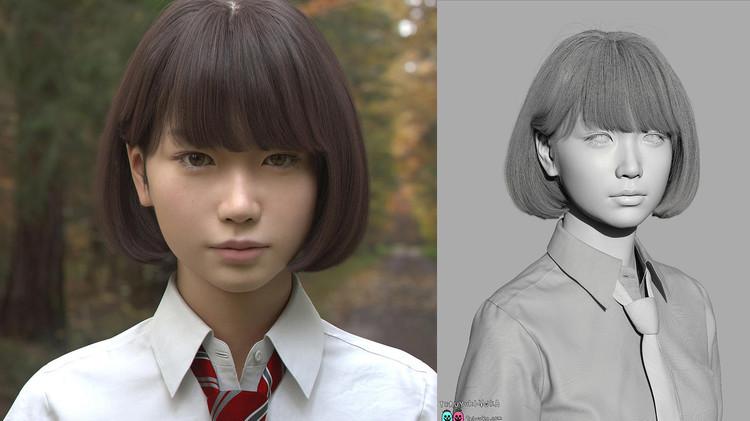 Fotos: ¿Nota algo raro en Saya, la chica japonesa que está revolucionando la Red?