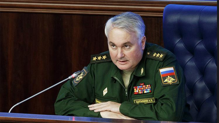 """Rusia: """"Detectamos extraños ataques aéreos no identificados contra instalaciones pacíficas en Siria"""""""