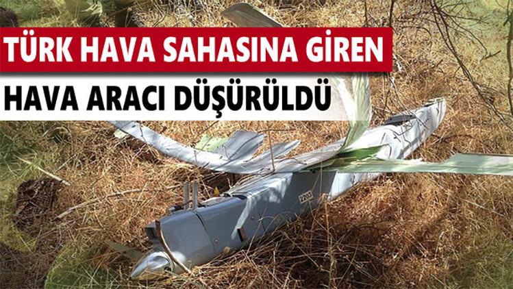"""Rusia: """"La foto del dron derribado hoy por Turquía parece una provocación de mala calidad"""""""