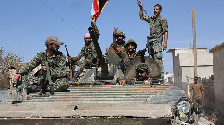 Ejército sirio causa graves bajas a los terroristas del Estado Islámico en la provincia de Alepo