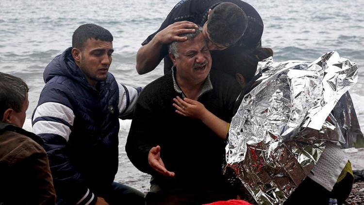Tragedia sin fin: publican fotos desgarradoras de una iraquí ahogada en el Egeo