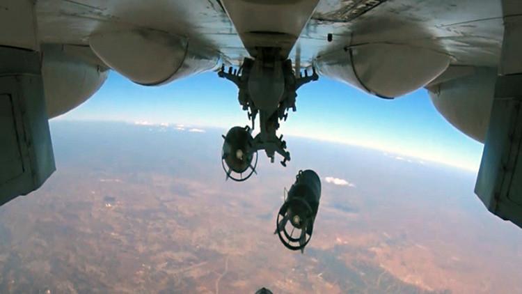 """Ministerio de Defensa ruso: """"Todos los ataques rusos contra el EI son precisos"""""""