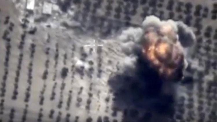 Infografía: Ataques aéreos rusos contra el Estado Islámico en Siria