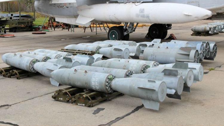Así fue el ataque ruso contra un búnker del Estado Islámico con bombas de caída libre