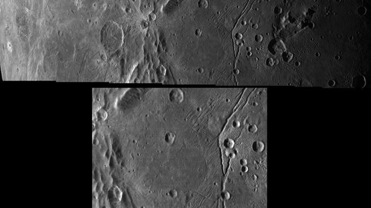 La NASA publica imágenes del 'terminador' de Caronte, la mayor luna de Plutón