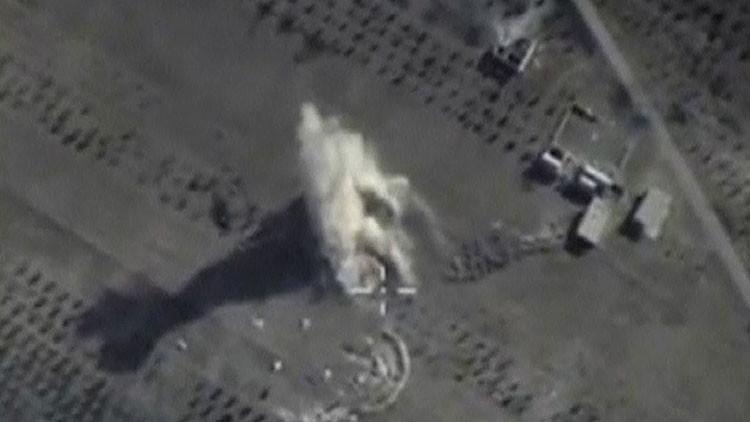 Video: Cómo los aviones rusos desbaratan los planes secretos del EI en Siria