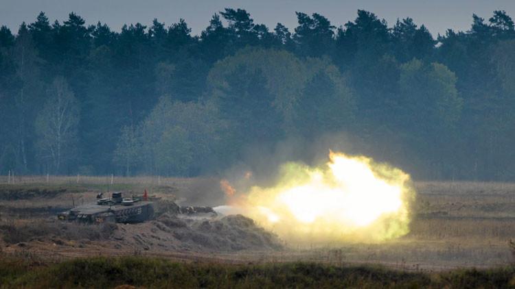 A puertas de Rusia, la OTAN ensaya un escenario de 'ocupación' (Video)
