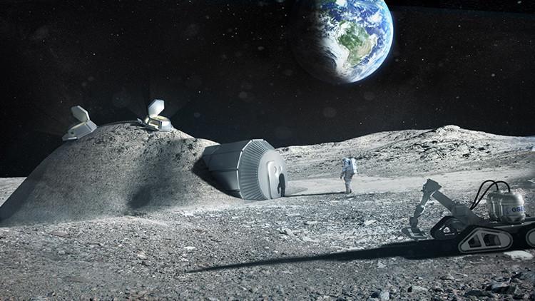 Rusia y Europa preparan una misión conjunta al lado oscuro de la Luna