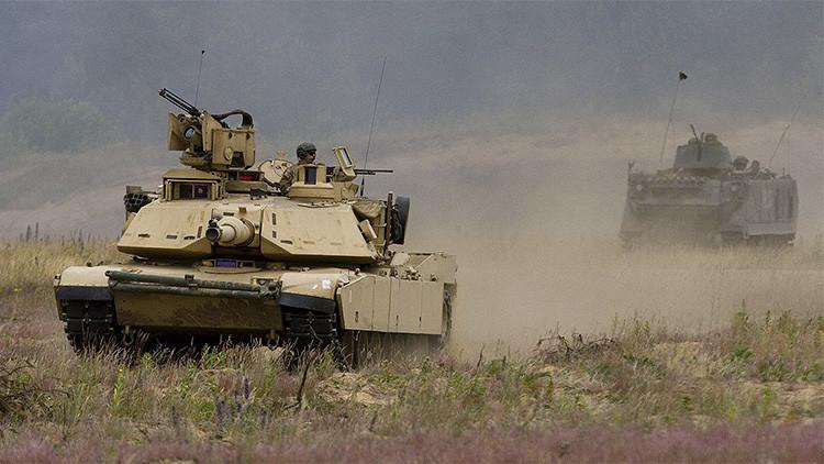 El Ejército de EE.UU. manda más equipo bélico a Europa
