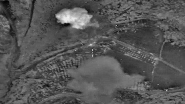 Nuevos videos: Los bombardeos rusos reconfiguran el campo de batalla en Siria
