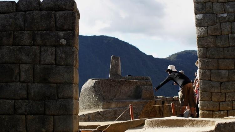 El reloj solar Intihuatana ubicado en Machu Picchu / Foto ilustrativa