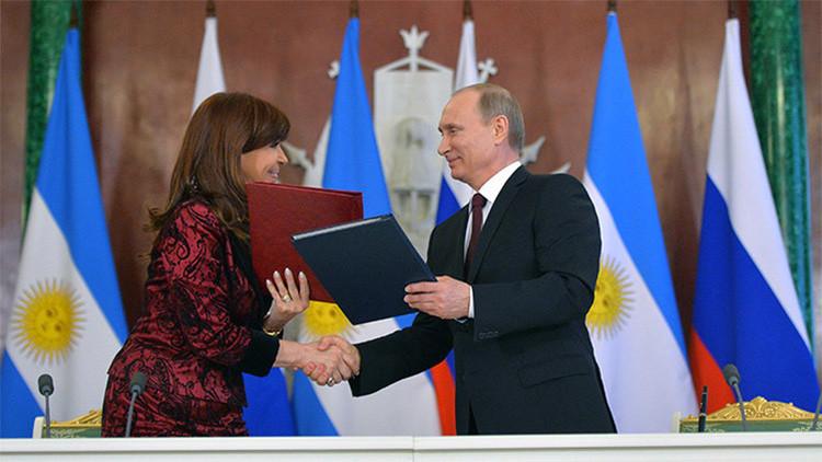 """Lavrov: """"La cooperación ruso-argentina ha alcanzado un nivel sin precedentes"""""""