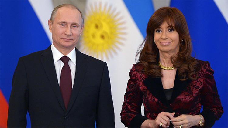 Putin celebrará una videoconferencia con Cristina Fernández de Kirchner este miércoles