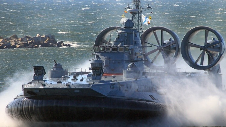 'El terror de los mares': Rusia diseña un aerodeslizador de última generación