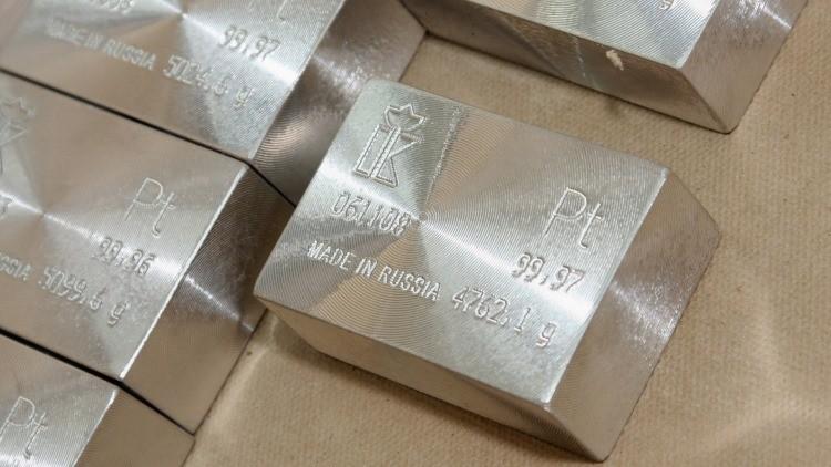 Rusia se encamina hacia el dominio global del mercado del platino