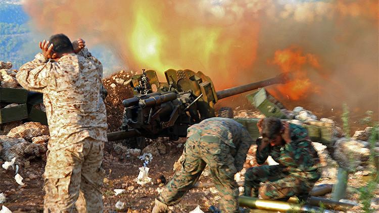 El monstruoso látigo de fuego azota a los terroristas: Una historia desde el frente en Siria