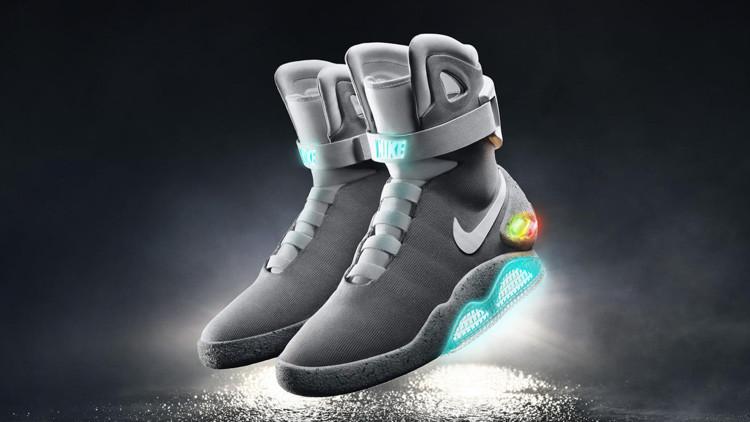 Los primeros zapatos Nike que se atan solos  ya están en Nueva York
