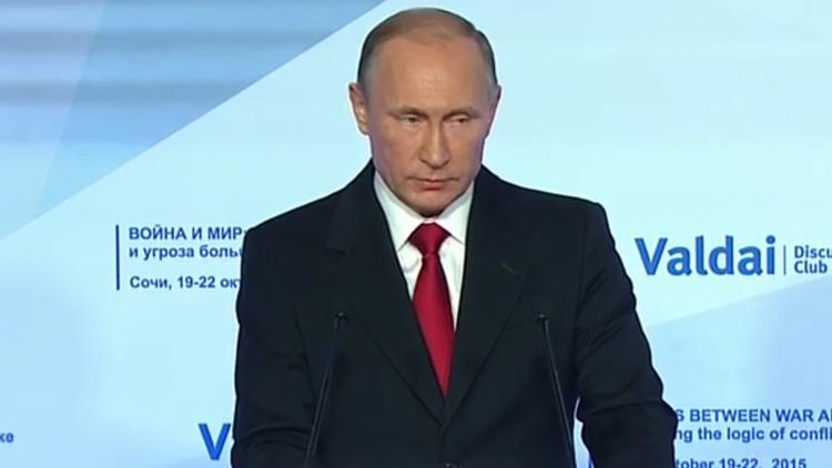 """Putin: """"EE.UU. trata a sus socios como vasallos cuando deciden actuar de forma independiente"""""""