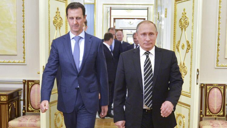 Putin revela detalles de su conversación a puerta cerrada con Bashar al Assad