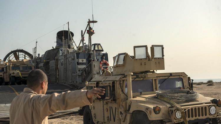 Obstáculo insalvable: graban cómo fracasa el desembarco de soldados de EE.UU. en Portugal