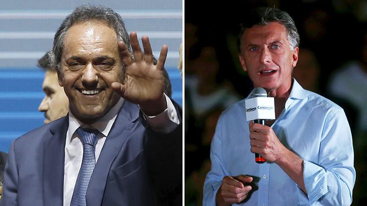Videos: Cierre de campaña en Argentina con mítines multitudinarios de los principales candidatos