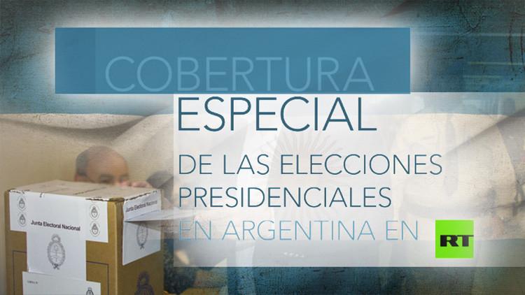 RT, el primer canal internacional que ofrece la cobertura especial de las elecciones en Argentina