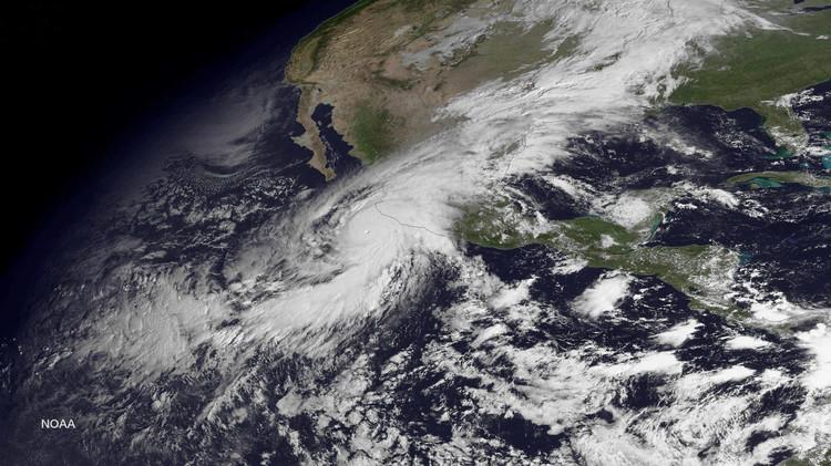 Video: Cómo la NASA analiza el monstruoso huracán Patricia desde el espacio