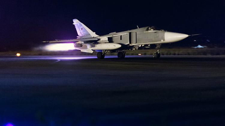 Un caza Su-24M