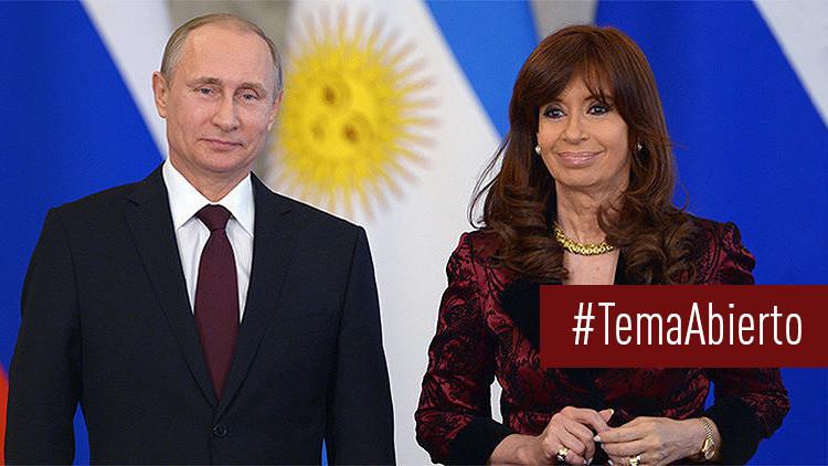 'Tema abierto': Argentina apuesta por el acercamiento a Rusia