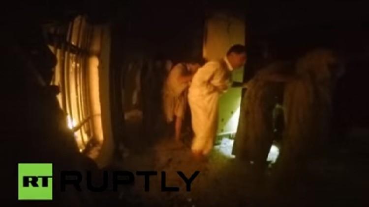 Video: Un soldado de las fuerzas especiales de EE.UU. graba cómo liberan a 70 rehenes del EI