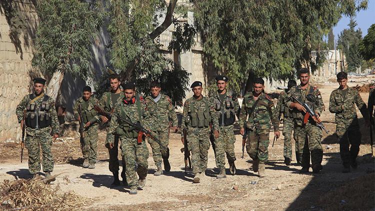Los militares leales a Bashar Al Assad.