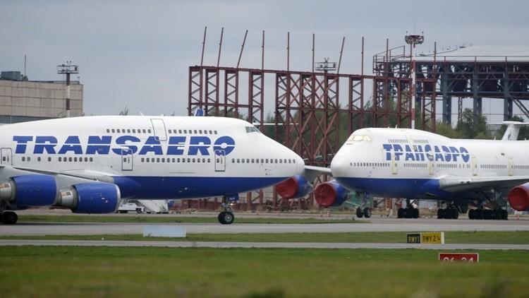 Aerolínea privada rusa Transaero
