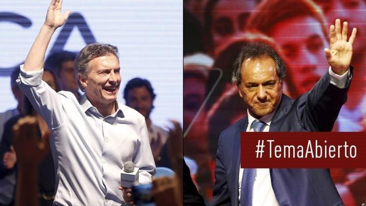 'Tema abierto': Voto contado en las presidenciales de Argentina, pero la lucha sigue