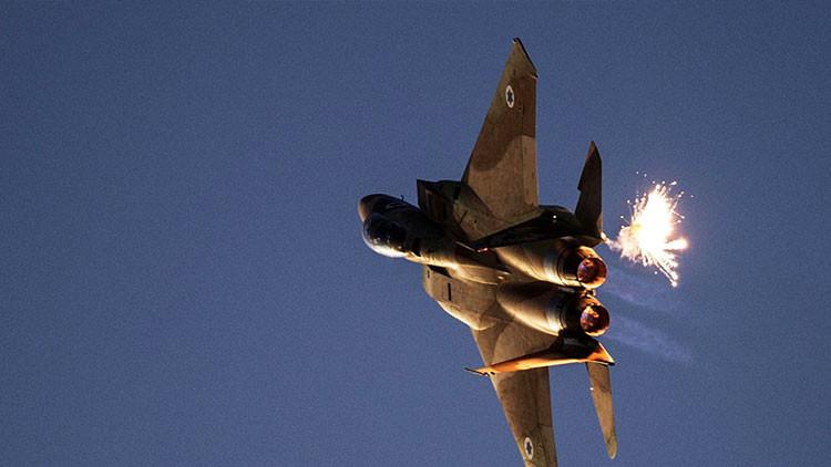 Un avión F-15I de la Fuerza Aérea de Israel