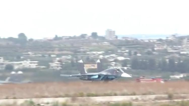 Así se prepara Rusia para la operación antiterrorista en Siria (VIDEO desde su base en Latakia)