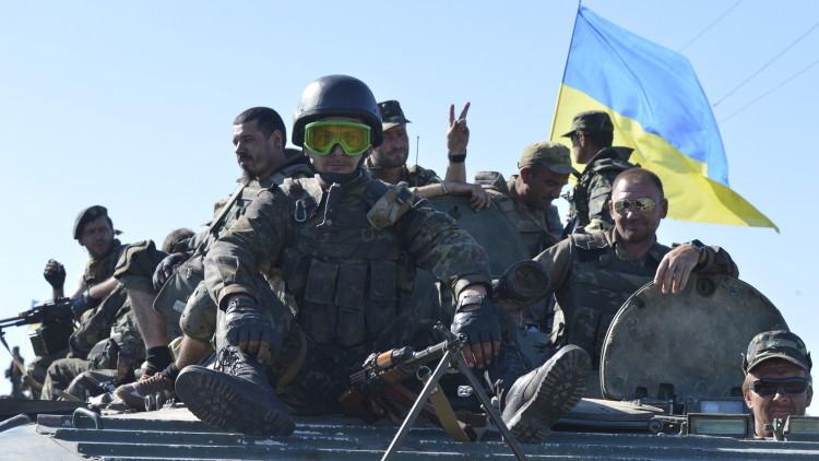 Las tropas ucranianas empiezan a retirar las armas de calibre menor a 100 mm