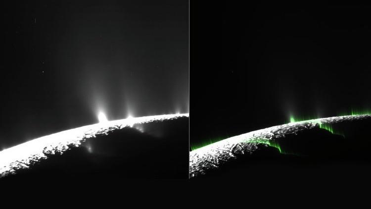 Encélado, la luna misteriosa de Saturno?
