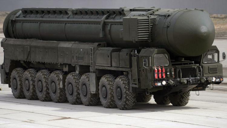 Misil balístico intercontinental RS-24 Yars.