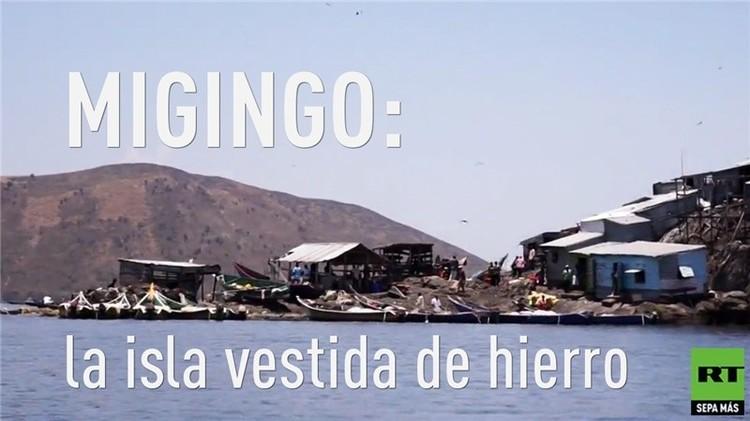 Migingo: la isla vestida de hierro