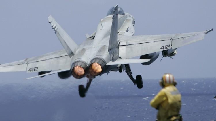 EE.UU. despliega 4 cazas por el acercamiento de dos aviones rusos