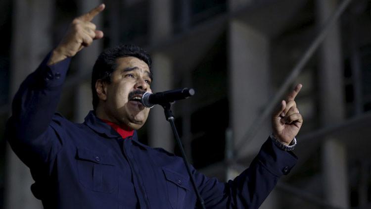 Maduro anuncia acciones legales contra EE.UU.