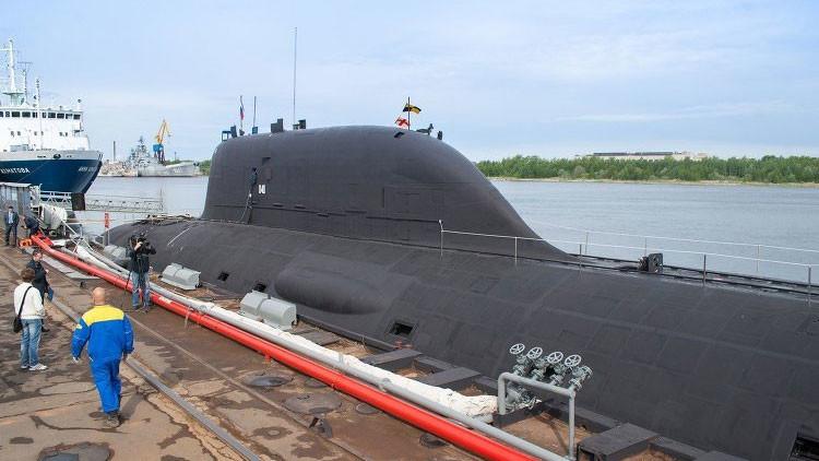 """Submarinos rusos avanzados """"provocan pánico"""" en la Armada de EE.UU."""