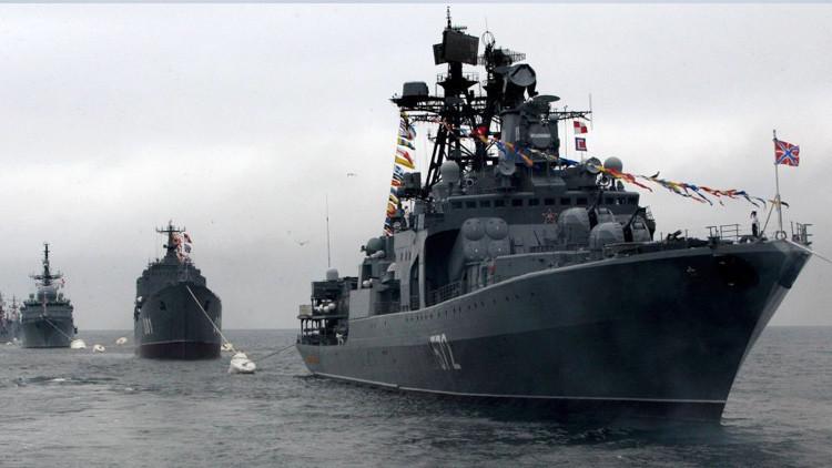 """Comandante de la Armada Rusa: """"Hay más de 50 buques y submarinos rusos en servicio activo en el mar"""""""