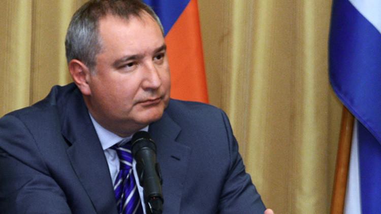 El viceprimer ministro ruso, Dmitri Rogozin, durante una reunión de la Comisión Intergubernamental Rusia-Cuba.