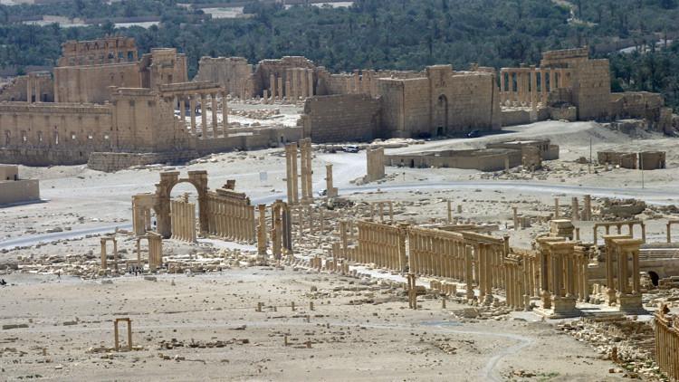 Destacado experto ruso explica por qué el Estado Islámico destruye Palmira