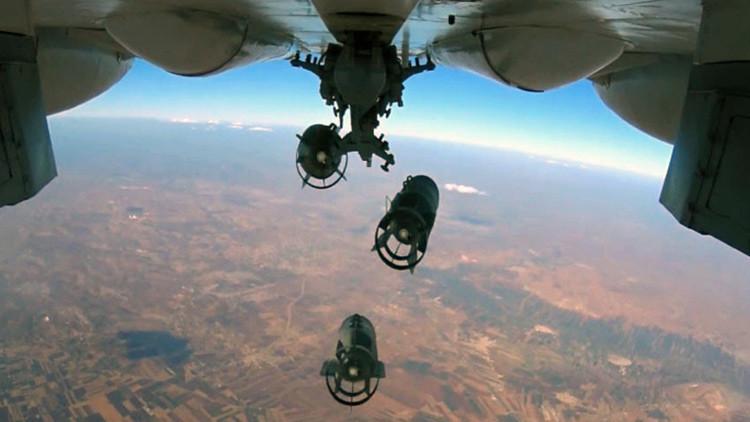 Los mejores videos del operativo antiterrorista ruso en Siria